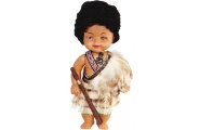 maori warrior replica doll