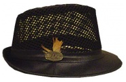 Black Trilby Hat
