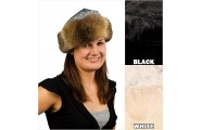 Bear Cottag Fur Trim Hat