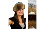 Possum Hat with Fur Trim