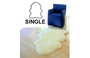 Bronze Sheepskin Rug Single