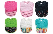 Silly Billyz Snuggly Towel Colour Bibs