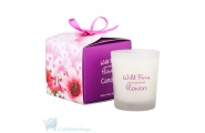 flowers candles