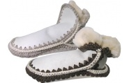 Sheepskin Slippers - Adult kiwi feet
