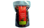 lemon herb olives