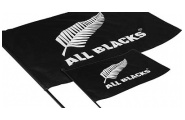 All Blacks Flag with Pole