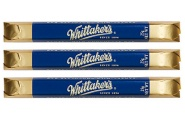 three pack whittaker's sante milk chocolate bar