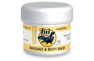 unscented natural massage and body balm