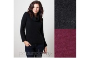 Long Sleeve Cowl neck  - Possum Down