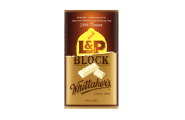 l&p white chocolate block whittakers