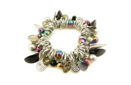 Paua Charm Chain Glam Bracelet By Hint of New Zealand