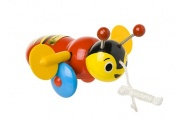 buzzy bee pull-along toy