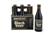 Black Beer 330 ml by Monteith's  X 6 bottles