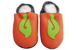 Infant Leather Booties