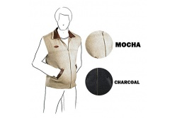 McDonald New Zealand - Lambskin Collar Vest