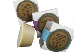 Handmade Goat's Milk Soap with Patchouli and Sweet Orange