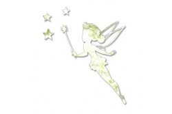 tinkerbell with stars home decor