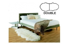 Bowron Gold Star Sheepskin Double