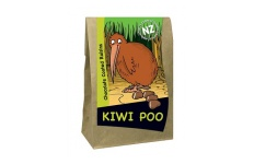 kiwi poo chocolate covered raisins