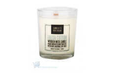 fresh cotton candle