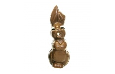 chocolate brown hoppy bunny
