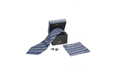 Twill Tie and Cufflinks Set