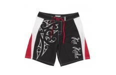 Mens Black Ta Moko Board Shorts
