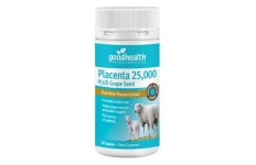 Placenta 25,000mg Plus Grape Seed
