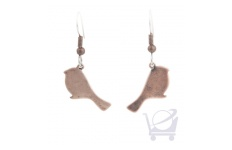 Antiqued Copper Bird Earrings – Danielle Designs