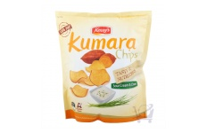 Kumara Chips Sour Cream/Chives by Kenny's 140g