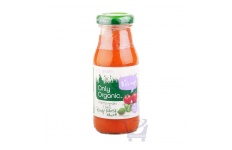 Roasted Tomato & Basil Pasta Sauce 1-5 yrs by Only Organic 150g