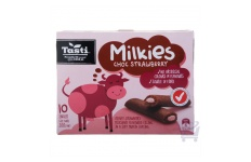 milkies chocolate strawberry muffin bar